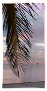 Palm Courtain II Beach Towel