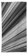 Palm Leaf Texture Beach Towel