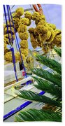 Palm Of The Dock Beach Towel