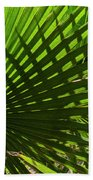 Palm Pattern No.1 Beach Towel