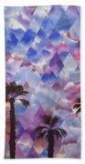 Palm Springs Sunset Beach Towel