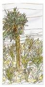 Palm Tree 1 Beach Sheet