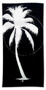 Palm Tree Number 8 Beach Towel