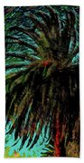Palm Trees 40 Version 2 Beach Towel