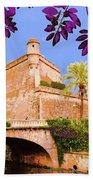Palma De Majorca Old City Walls Beach Towel