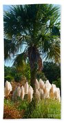 Palmetto Tree  Beach Towel