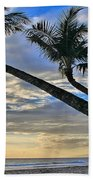 Palms Of Kaanapali Beach Towel