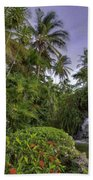 Palms Pool Beach Towel