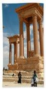 Palmyra-tetrapylon Beach Towel