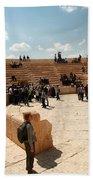 Palmyra-theater Beach Towel