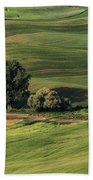 Palouse Farm 1 Beach Towel