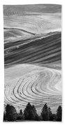 Palouse Field 2740 Beach Towel