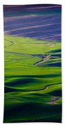 Palouse - Later Afternoon Beach Towel