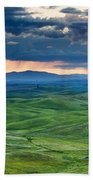 Palouse Storm Beach Towel