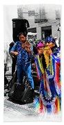 Pan Flutes In Cuenca Beach Towel