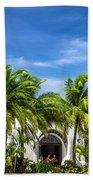 Panchos Backyard  Beach Towel