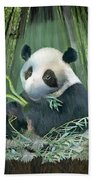 Panda Love Beach Towel