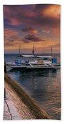 Pandanon Island Sunset Beach Towel