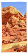 Panoramic Coyote Buttes Landscape Beach Towel