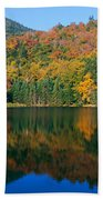 Panoramic View Of Crawford Notch State Beach Towel