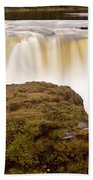 Panoramic Waterfall Manitoba Beach Towel