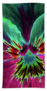 Pansy 01 - Photopower - Thoughts Of You Beach Towel