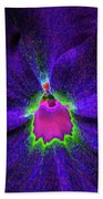 Pansy 05 - Photopower - Thoughts Of You Beach Towel