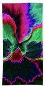 Pansy 10 - Photopower - Thoughts Of You Beach Towel
