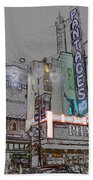 Pantages Theater Hollywood Beach Towel