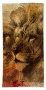 Panthera Leo 2016 Beach Towel