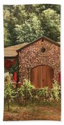 Paoletti  Estates Winery Beach Towel