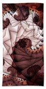 Paper Spiral Beach Towel