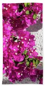 Papery Pink Riot Beach Towel