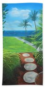 Paradise Beckons Beach Towel