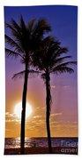 Paradise Palms Beach Towel