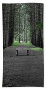 Parallel Pines Beach Towel