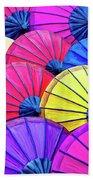 Parasols Beach Towel