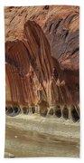 Paria River In Paria Canyon-vermillion Cliffs Wilderness Beach Towel