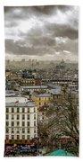 Paris As Seen From The Sacre-coeur Beach Towel