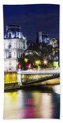 Paris At Night 22 Beach Towel