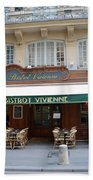 Paris Cafe Bistro Vivienne - Paris Cafes Bistro Restaurant-paris Cafe Galerie Vivienne Beach Towel
