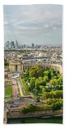 Paris City View 27 Beach Towel