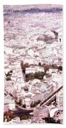 Paris Panorama 1955  Beach Towel