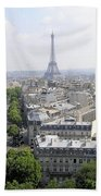 Paris01 Beach Towel