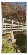 Park Bridge Autumn 3 Beach Towel