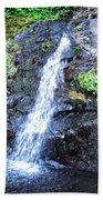 Parker Creek Falls Beach Towel