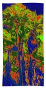 Parking Lot Palms 1 15 Beach Towel