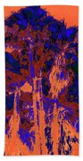 Parking Lot Palms 1 18 Beach Towel