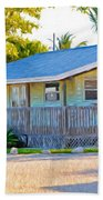 Parmer's Resort Cottage In Keys Sunset Glow Beach Towel
