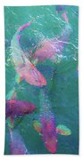 Parrotfish Of The Keys Beach Towel